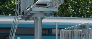 Sprungturm Technik Konstruktion